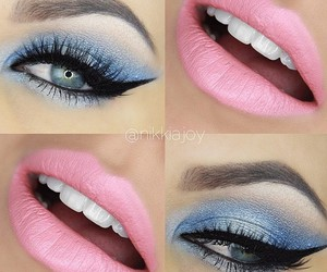 beauty, big eyes, and get the look image