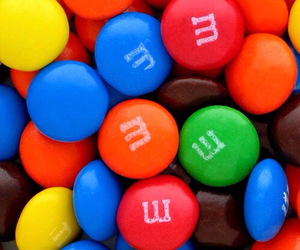 chocolate, food, and m&m's image
