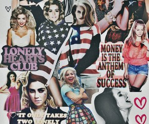 lana del rey, marina and the diamonds, and Collage image
