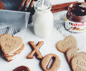Cookies, nutella, and chocolate image