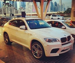 bmw, car, and x6 image