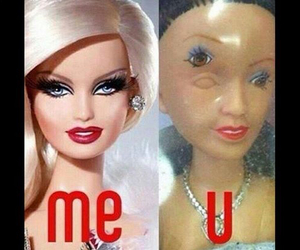 barbie, me, and funny image