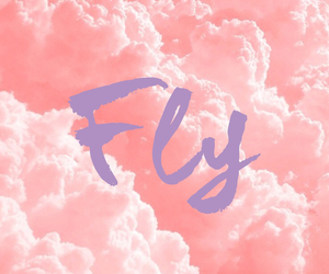 cloud, pastel, and pink image