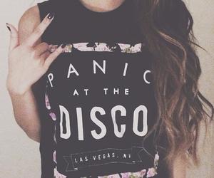 fashion, panic! at the disco, and shirt image