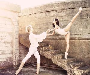 ballerina, ballet, and flexible image
