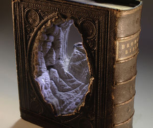 book, art, and sculpture image