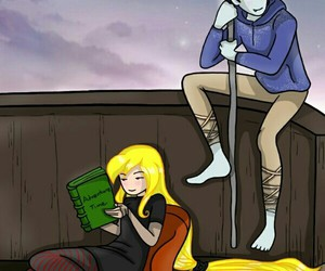 adventure time, fionna, and marshal lee image