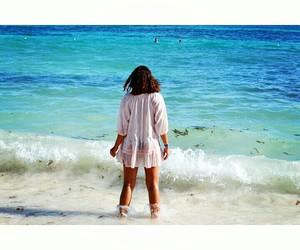 beach, sand, and punta cana image
