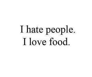 food, people, and hate image