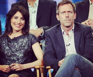 couple, huddy, and hugh laurie image