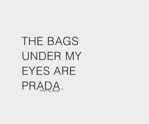Prada, bag, and quotes image