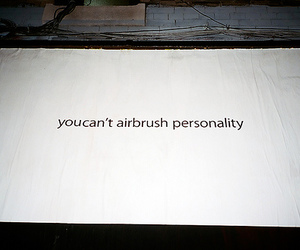 personality, Airbrush, and quote image
