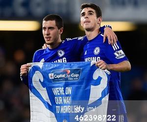 Chelsea, football, and oscar image