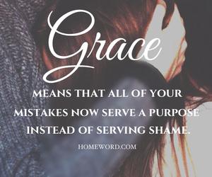 god, grace, and jesus image