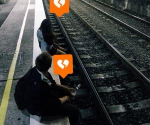 heart, sad, and boy image