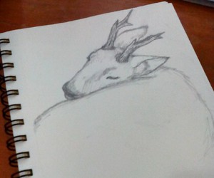 animals, art, and deer image