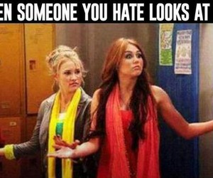 hate, miley cyrus, and funny image
