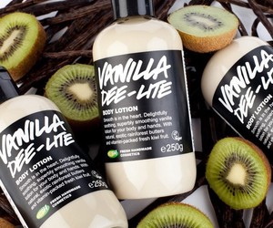 lush, kiwi, and vanilla image
