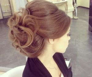 hair and wedding image