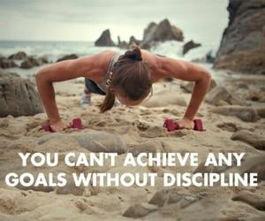 motivation, fitness, and discipline image