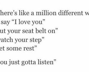 different, I Love You, and million image