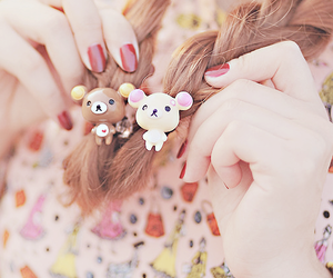 cute, hair, and kawaii image