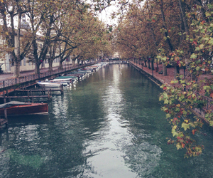 autumn, france, and romantic image