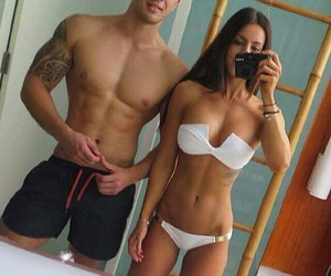abs, couple, and Hot image