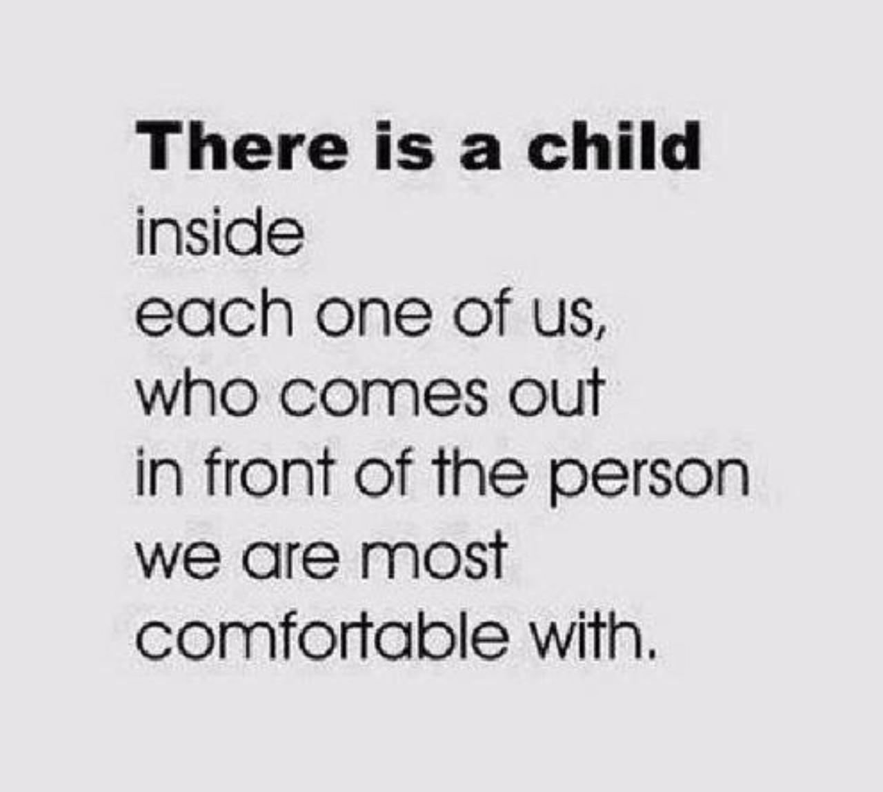 child and comfortable image