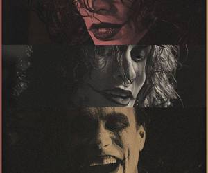 brandon lee, the crow, and eric draven image
