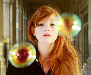 bubble, ginger, and girl image
