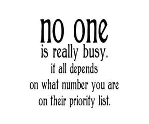 busy, quote, and priority image