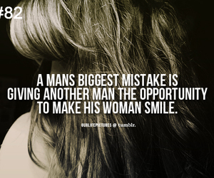 quote, man, and smile image