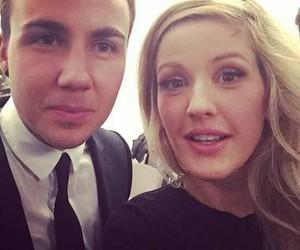 Ellie Goulding and mario gotze image