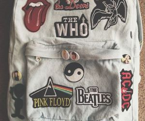 Pink Floyd, bag, and the beatles image