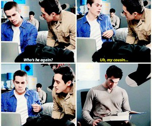teen wolf, dylan o'brien, and derek hale image
