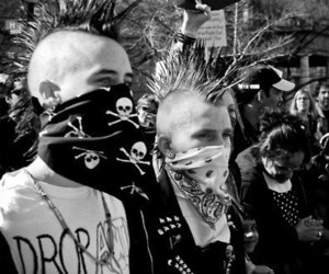 anarchy, black, and dead image
