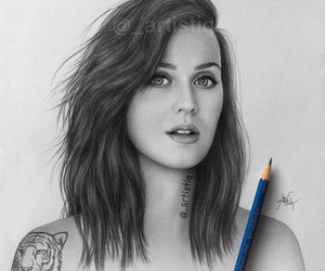 katy perry, drawing, and art image