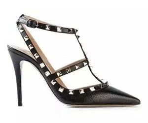 Valentino, heels, and pump shoes image