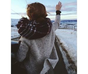 girl, landscape, and travel image