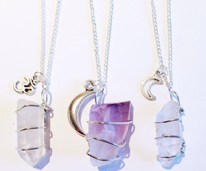 crystal, beautiful, and necklace image