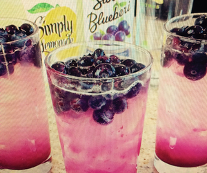 beautiful, berries, and drink image