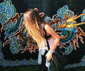 grunge, hair, and art image
