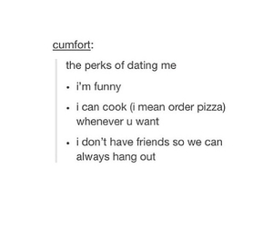 dating, funny, and me image