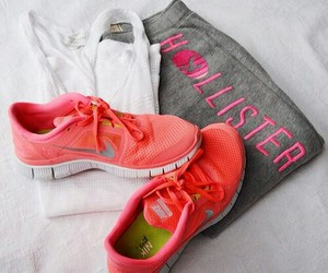 hollister, nike, and fitness image