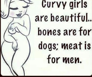 curvy, men, and quote image