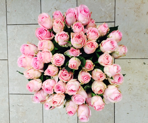 bouquet, fashion, and pink image