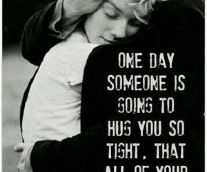 love, hug, and quotes image