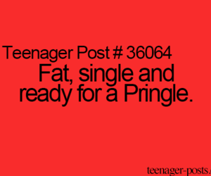 funny, fat, and single image