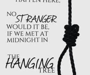 mockingjay, thg, and the hanging tree image